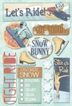Snow Bunny Cardstock Stickers By Karen Foster