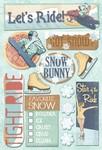Snow Bunny Cardstock Stickers By Karen Foster