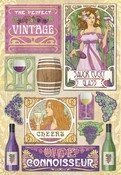 The Perfect Vintage Cardstock Stickers By Karen Foster