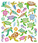 Turtles & Seahorses Stickers
