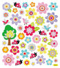 Bright Flowers Stickers