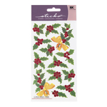 Holly And Berries Stickers By Sticko