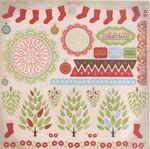 Goodies Sticker Sheet - Merry Medley By Kaiser Craft