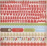 Elfers Sticker Sheet - Merry Medley By Kaiser Craft