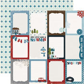 Winter Park Journaling Cards Paper - Winter Park By Echo Park