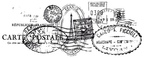 Postmarks Clear Stamp