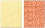 Flowers & Pears Set Embossing Folders By Sizzix
