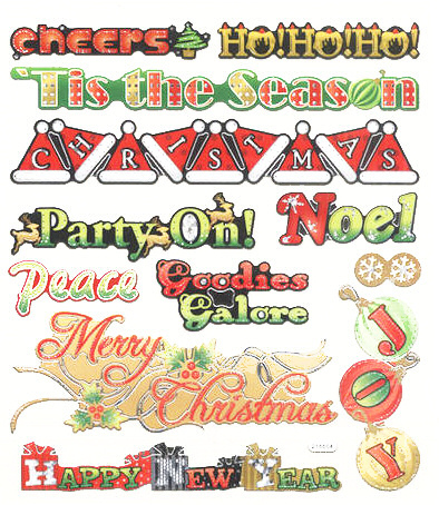 Christmas Time Stickers