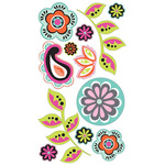 Paisley & Flowers Stickers By Sticko