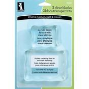 Clear Blocks Small & Medium By Inkadinkado