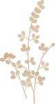 Berry Vine Wood Flourish By Kaiser Craft
