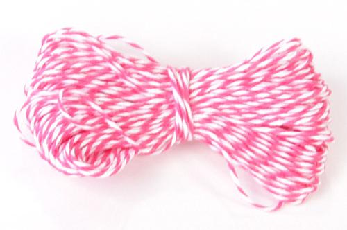 Pink Sorbet Bakers Twine, 15 Yards