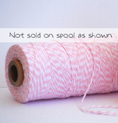 blossom pink bakers twine
