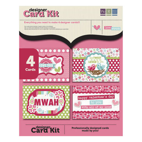 Love Struck Mini Card Making Kit By We R Memory Keepers
