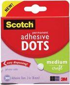 Permanent Adhesive Dots Medium Craft