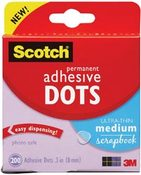Permanent Ultra Thin Adhesive Dots