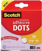Permanent Pop - up Adhesive Dots