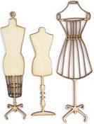 Manequins Wood Flourishes By Kaiser Craft