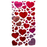 Blissful Hearts Stickers