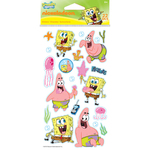SpongeBob & Patrick Epoxy Stickers