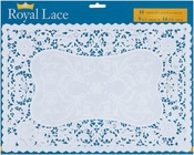 French Lace Paper Doily Placemat