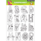 Zoophabet - Penny Black Clear Stamps