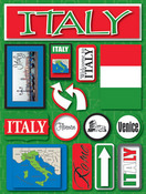 Italy Stickers