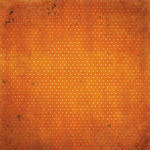 Burnt Orange Vintage Paper - Double Dot Vintage By Bo Bunny