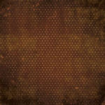 Chocolate Vintage Paper - Double Dot Vintage By Bo Bunny