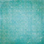 Ocean Vintage Double Dot Paper - Botanical Journal - Bo Bunny - PRE ORDER
