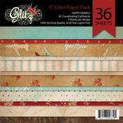 Happy Travels 6 x 6 Paper Pad By Glitz Design