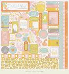Delightful 12 x 12 Details Sticker Sheet By Authentique