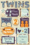 Terrific Twins Cardstock Stickers