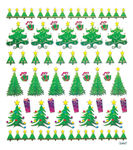 Christmas Tree Icon Stickers