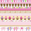 Baby Girl Border Paper By Bella Blvd