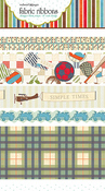 Game On Fabric Ribbon By Websters Pages