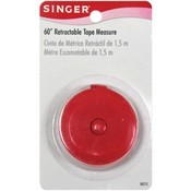 """60"""" Retractable Tape Measure By Singer"""