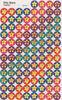Silly Stars Single Sticker Sheet By Trend