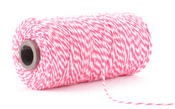 Pink Sorbet Baker's Twine on 240 Yard Spool