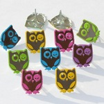 Winking Owl Bright Brads