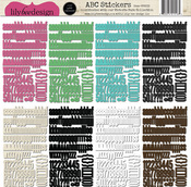 Victoria Park Cardstock Stickers By Lily Bee
