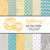 Buttercup 6 x 6 Paper Pad By Lily Bee
