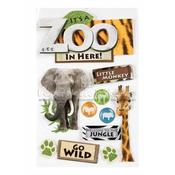 Zoo 3D Stickers - Paper House