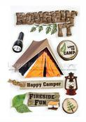 Roughin' It 3D Stickers - Paper House