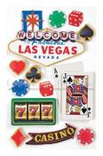 Las Vegas 3D Stickers - Paper House
