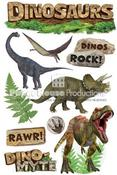 Dinosaurs 3D Stickers - Paper House