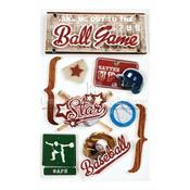 Baseball 3D Stickers - Paper House