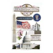 Washington DC 3D Stickers - Paper House