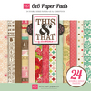 Graceful 6 x 6 Paper Pad - This & That -  Echo Park
