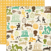 Vintage Boy Paper - Charming - This & That - Echo Park